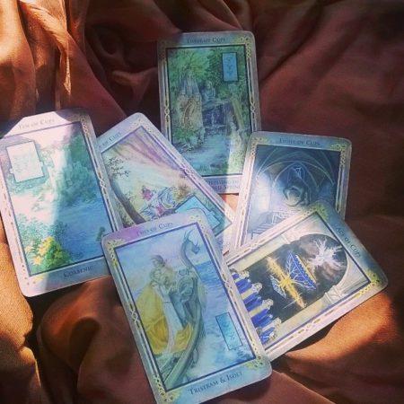 tarot cards for the intuitive tarot series