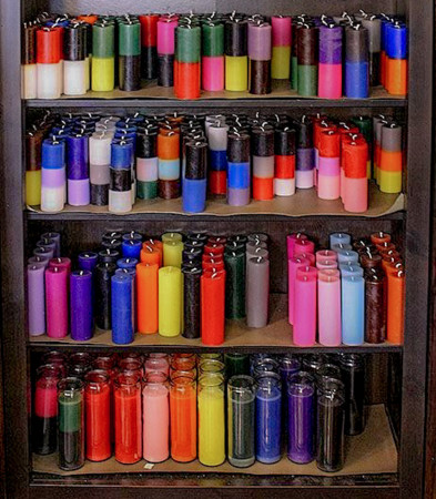 candles for the candle magic workshop