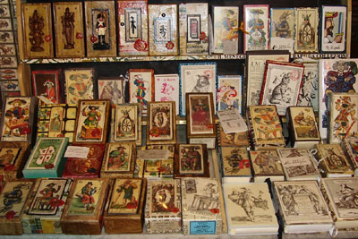 different tarot decks