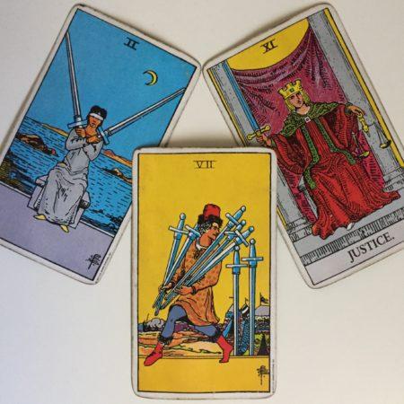 seven of swords tarot