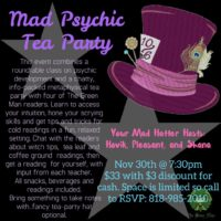 MAD PSYCHIC TEA PARTY