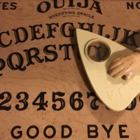 ouija board for the haunted objects séance