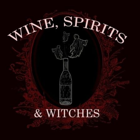 Wine Spirits and Witches Podcast logo